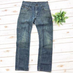 Levi's   511 Patchwork Stitching Skinny Jeans
